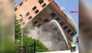 Tedbirsizlik Faciaya Dönüşüyordu: Bahçelievler'de 11 Katlı Binanın Yıkım Anı Kamerada