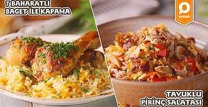 """Geleneksel Lezzet """"Tavuk Kapama""""nın En Pratik Hali ile """"Tavuklu Pirinç Salatası"""" Nasıl Yapılır?"""