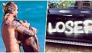 Loris Karius'un Paylaşımı Sonrasında Kız Arkadaşı Sophia Thomalla'nın Arabasına Spreyli Saldırı