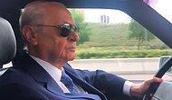 'Aziz İstanbul' Parçası Eşliğinde Ankara Sokaklarında: Devlet Bahçeli, Klasik Otomobili ile Başkenti Turladı