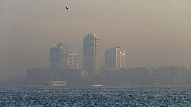 Avrupa'nın havası en kirli 10 şehrinin 8'i Türkiye'de
