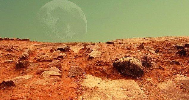 İnsan ırkının Mars'ta yaşam hayallerinin gerçek olması için atılan birçok adımdan sadece biri...