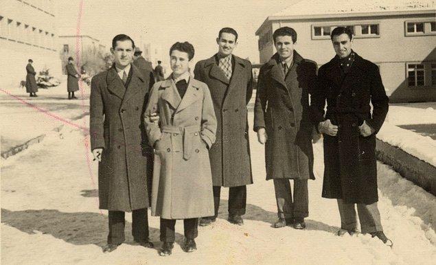 1. Ziraat fakültesi öğrencileri, Ankara, 1944.