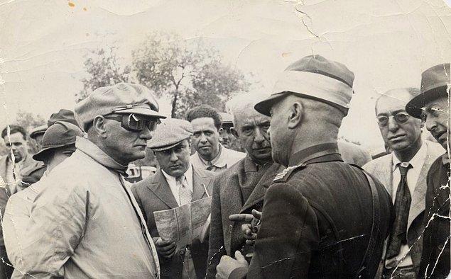 2. Mustafa Kemal Atatürk Tekirdağ Çerkezköy'de, 1937.