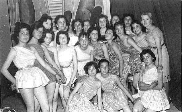3. Malatya Lisesi 19 Mayıs gösterisi provaları, Malatya, 1962.