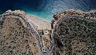 Dünyaca Ünlü Kaputaş Plajı'nda İzdiham: 3 Kilometrelik Araç Kuyruğu Oluştu