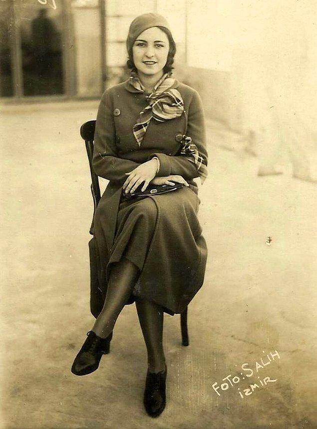 17. Türkiye ve Dünya güzeli Keriman Halis Ece, İzmir, 1932.