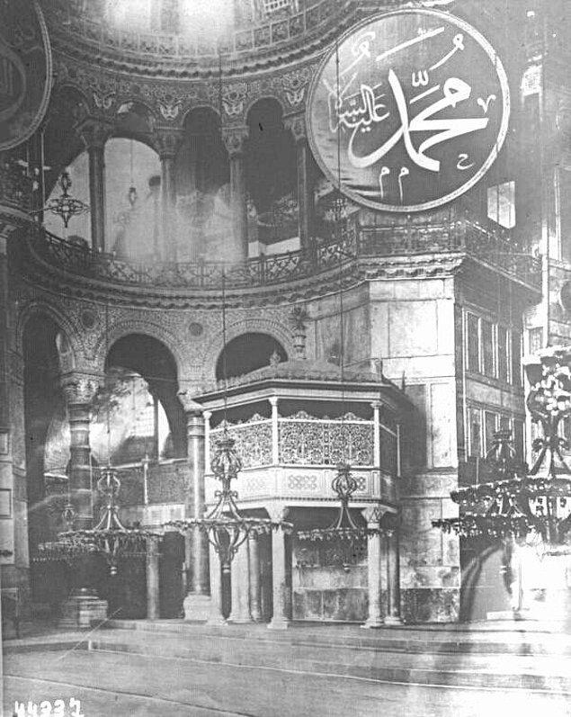 27. Ayasofya, İstanbul, 1915.