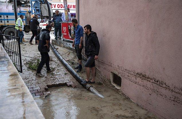 Etimesgut'ta ise dükkanını su basan Metin Altınışık'tan acı haber geldi