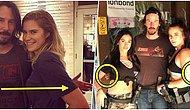Bir Kez Daha Düştük! Fotoğraf Çektiren Kadın Hayranlarını Rahatsız Etmemek İçin Onlara Dokunmayan Keanu Reeves