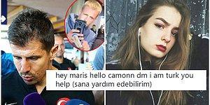 Emre Belözoğlu'na Tuvalet Fırçası Uzatılmasınının Ardından Türkiye'yi Destekleyen Norveçli Kadının Türklerle Sınavı