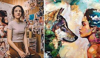 Henüz 15 Yaşındayken Cesaret İsteyen Bir Yola Girip Sanatıyla Harikalar Yaratmış Bir Genç: Dimitra Milan