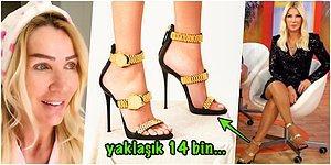 Giydiği Saatli ve Çoraplı Topukluyla Gündem Olan Seda Sayan'ın O Meşhur Ayakkabısının Kaç Lira Olduğunu Biliyor musunuz?