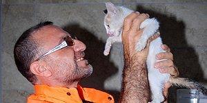 Pendik'te Yavru Kediyi Suni Teneffüsle Kurtaran Belediye İşçisi: 'Biz Üzerimize Düşen Görevi Yaptık'