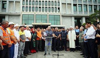 CHP'li Mehmet Bekaroğlu'ndan 'İBB Çalışanları Basın Açıklamasına Zorla Götürüldü' İddiası