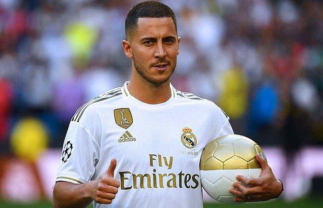 19 - Eden Hazard / Real Madrid - 120.7 milyon €