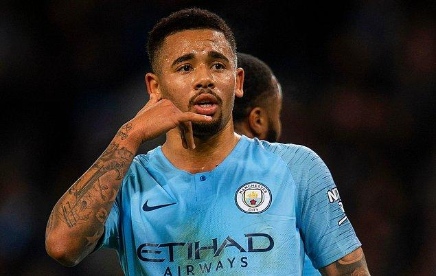 12 - Gabriel Jesus / Manchester City - 130.6 milyon €