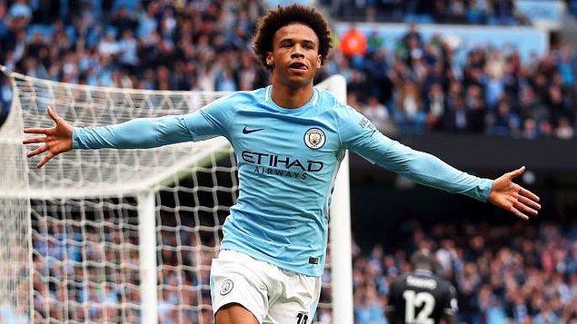 10 - Leroy Sané / Manchester City - 137.1 milyon €