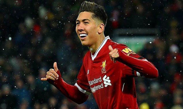 8 - Roberto Firmino / Liverpool - 144,2 milyon €