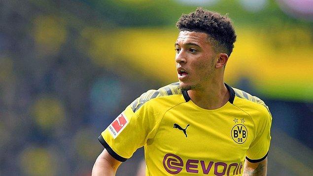 5 - Jadon Malik Sancho / Borussia Dortmund - 159,4 milyon €