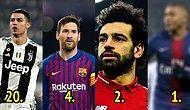 Uluslararası Spor Araştırmaları Merkezi CIES'e Göre Avrupa'nın Beş Büyük Ligindeki En Değerli 100 Futbolcu