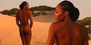 Kenya Çöllerinde Kavurucu Sıcakta Anadan Üryan Şekilde Kameralar Karşısına Geçen Naomi Campbell Nefes Kesti!