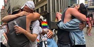 Onur Yürüyüşü'nde Reddedilen Evlatlara 'Baba Sarılması' Önererek Herkesi Duygulandıran Koca Yürekli Adam