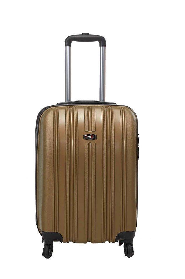 1. Yağmurlar bitecek, yaz yeniden gelecek. Siz şimdiden ani tatile çıkma isteklerine hazırlıklı olun diye: Kabin boy valiz.