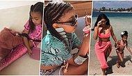 Anasına Bak Kızını Al! Kim Kardashian ve Kanye West'in Şimdiden Bir Moda İkonu Olan Kızları North West'in Birbirinden Tarz Kombinleri