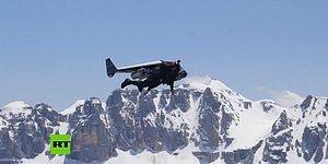 Jet Adam Lakaplı Yves Rossy'den Nefes Kesici Gösteri!