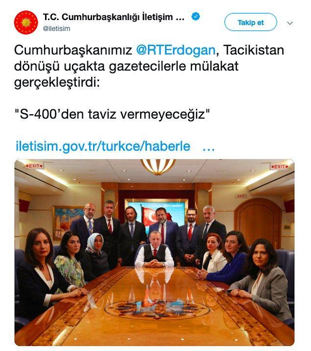 Cumhurbaşkanı Recep Tayyip Erdoğan, Asya'da İşbirliği ve Güven Arttırıcı Önlemler Konferansı 5. Devlet ve Hükümet Başkanları Zirvesi için geçtiğimiz günlerde Tacikistan'a gitmişti, hatırlarsanız.
