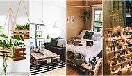 Daha Tarz ve Doğal Bir Evi Olsun İsteyenler İçin Ahşap Paletlerden Yapılmış En Güzel Dekorasyon Önerileri