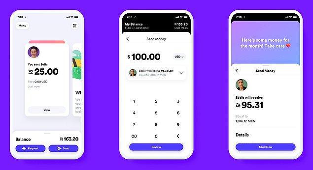 Akıllı telefonlara indirilecek Calibra uygulaması ile kripto para birimi ile yapılacak işlemlerin çok daha basit hale gelmesi planlanıyor.