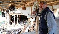 Konya'daki Sel Felaketinde Evini Kaybeden Mehmet Dedenin Gözyaşları: 'Alt Katta Erzak Vardı, Sel Aldı Gitti'