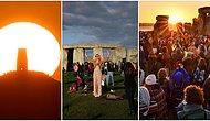 21 Haziran Yengeç Ekinoksu'nu Güneşin Doğuşuyla Kutlayan İnsanlardan Birbirinden Muhteşem 21 Fotoğraf