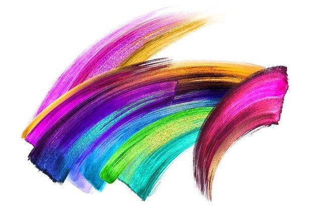 1. Bu resimde ilk gözüne çarpan rengi seç.