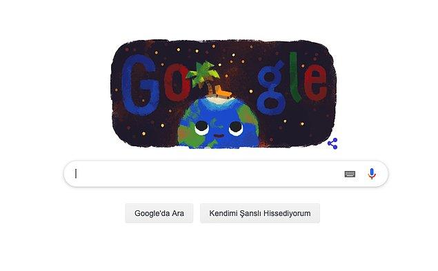 """Google da """"Yaz Gün Dönümü"""" için özel bir doodle hazırladı."""
