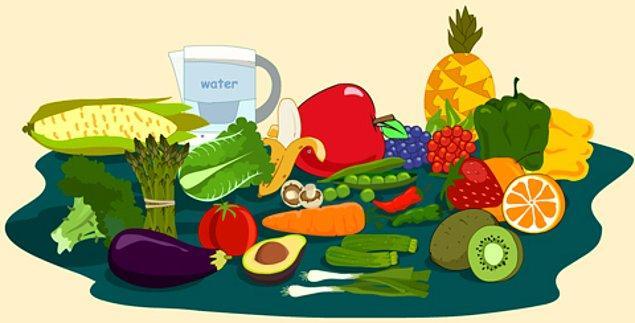 8. Sağlıklı ve dikkatli beslenin.