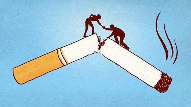 9. Sigarayı bırakın.