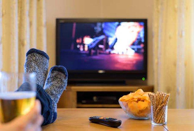 10. Daha az televizyon izleyin.