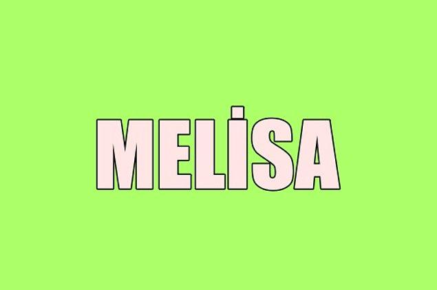 Sana gizliden gizliye aşık olan kişinin adı Melisa!