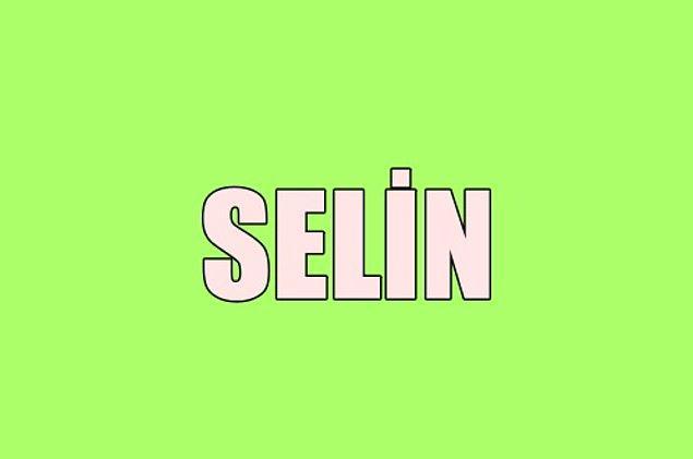 Sana gizliden gizliye aşık olan kişinin adı Selin!