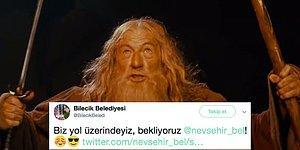 Nevşehir Belediyesi'nin Attığı Tweet'e Bilecik Belediyesi'nin Verdiği Cevap ve Sonrasında Gelişen O Muhteşem Atışma