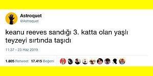 Keanu Reeves İstanbul'daki Seçim Heyecanını Dindirmeye Çalışan Goygoycuların Malzemesi Oldu!