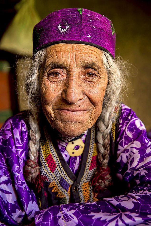 Khik halkından bir kadın; Vahan Vadisi, Bedahşan/Afganistan