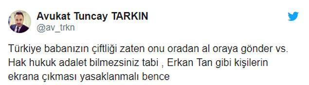 Erkan Tan'ın bu açıklamaları sonrası sosyal medyadan da farklı yorumlar geldi...