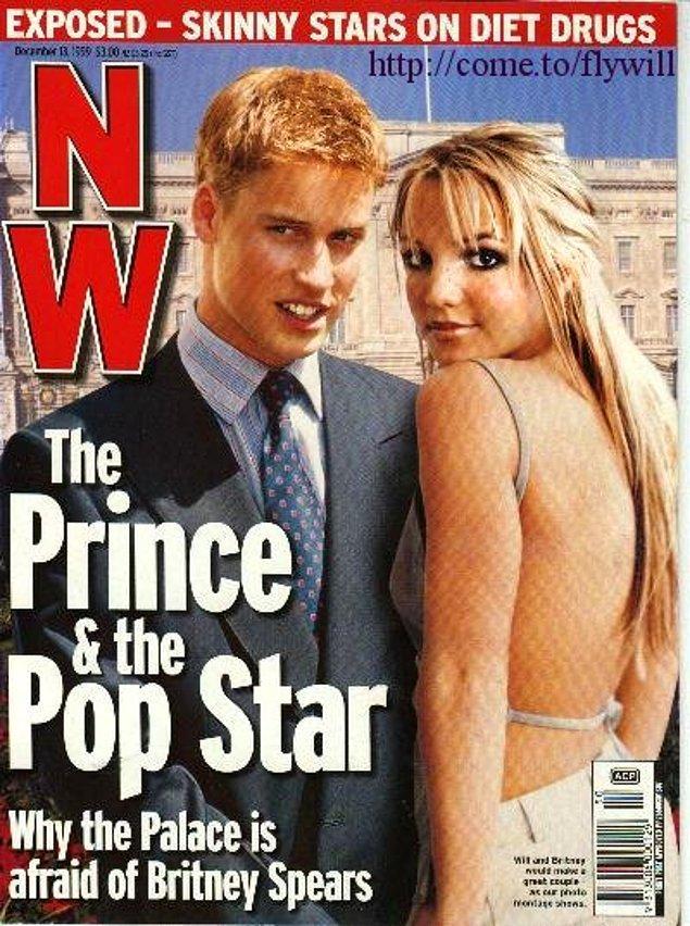 18 yaşındayken adı Britney Spears ile anılıyor; iddialara göre Kraliçe'nin hoşuna gitmeyen bu ilişki başladığı gibi bitiyor.