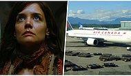 Uçuş Sırasında Uyuyakalınca Gözlerini Karanlık ve Kilitli Bir Uçakta Açarak Korkuyu İliklerine Kadar Yaşayan Kadın
