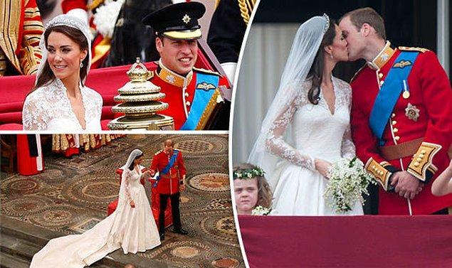 Sonrası da malum, 29 Nisan 2011'de evleniyorlar. Boy boy çocukları oluyor falan filan. Mutlu son!