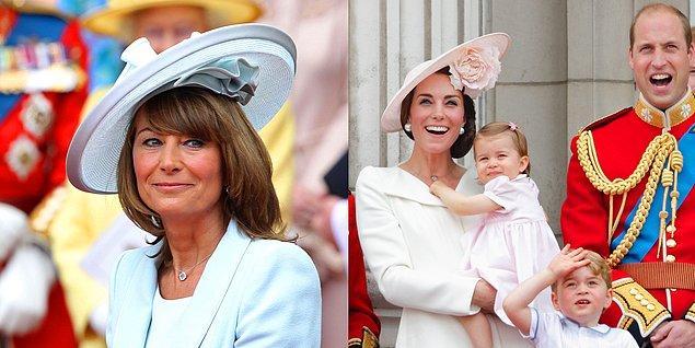 Kate Middleton'ın bugünlere gelmesinin en büyük sebebi annesi Carole Middleton olarak gösteriliyor desek?
